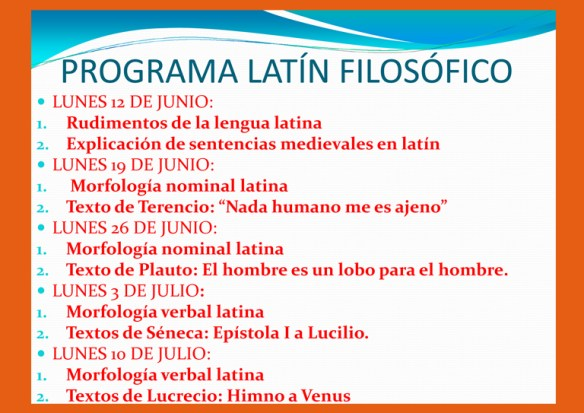 Programa curso latín filosófico WEB