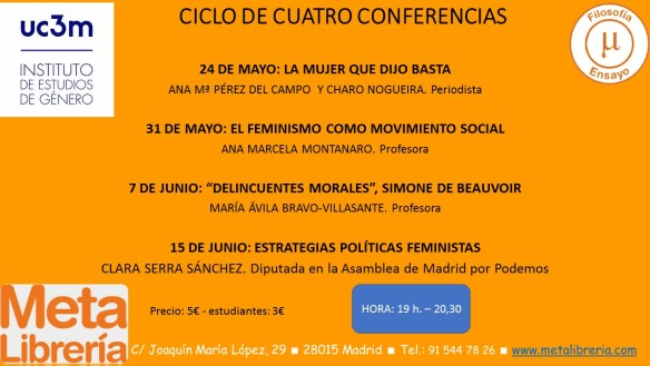CICLO CONFERENCIAS