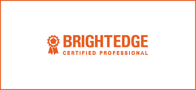 BrightEdge Certified Consultants