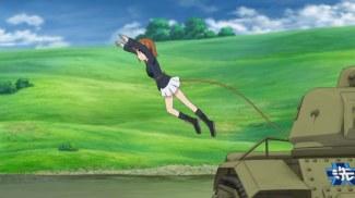 Girls und Panzer 11 Miho Flies (5)