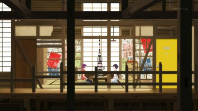 Monogatari Series Second Season 02 Stacking Stuff (2)
