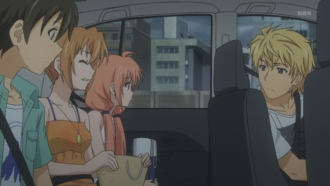 Golden Time-Uncomfortable