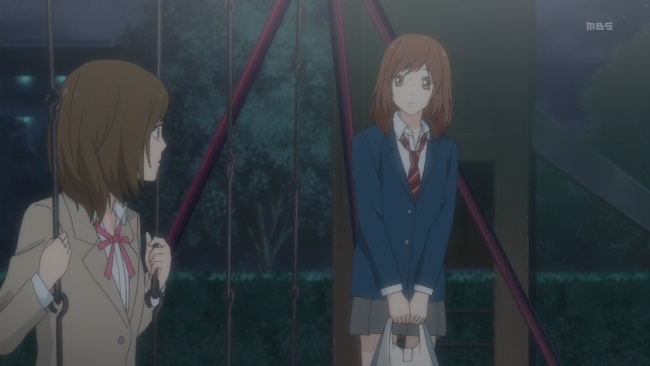 Ao Haru Ride-The wrong confession to hear