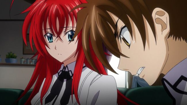 DxD BorN - Why can't he worry about me like that