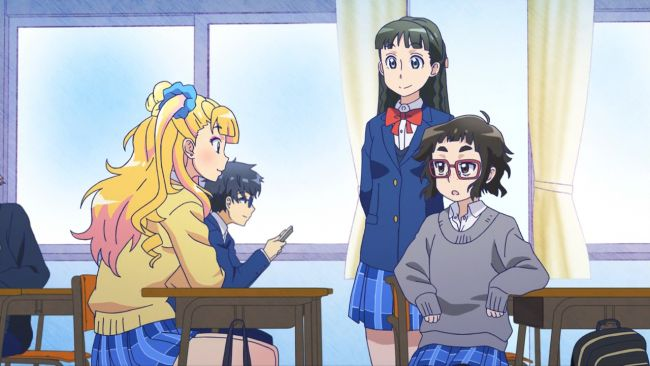 Galko - Galko talks to Okako and Ojou