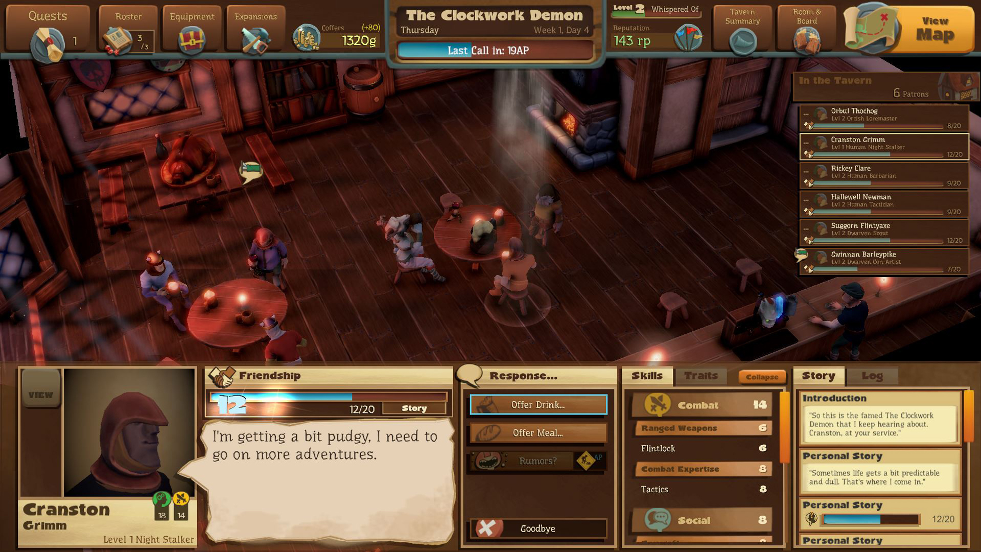 Preview Test Epic Tavern simulateur de taverne sur Steam1