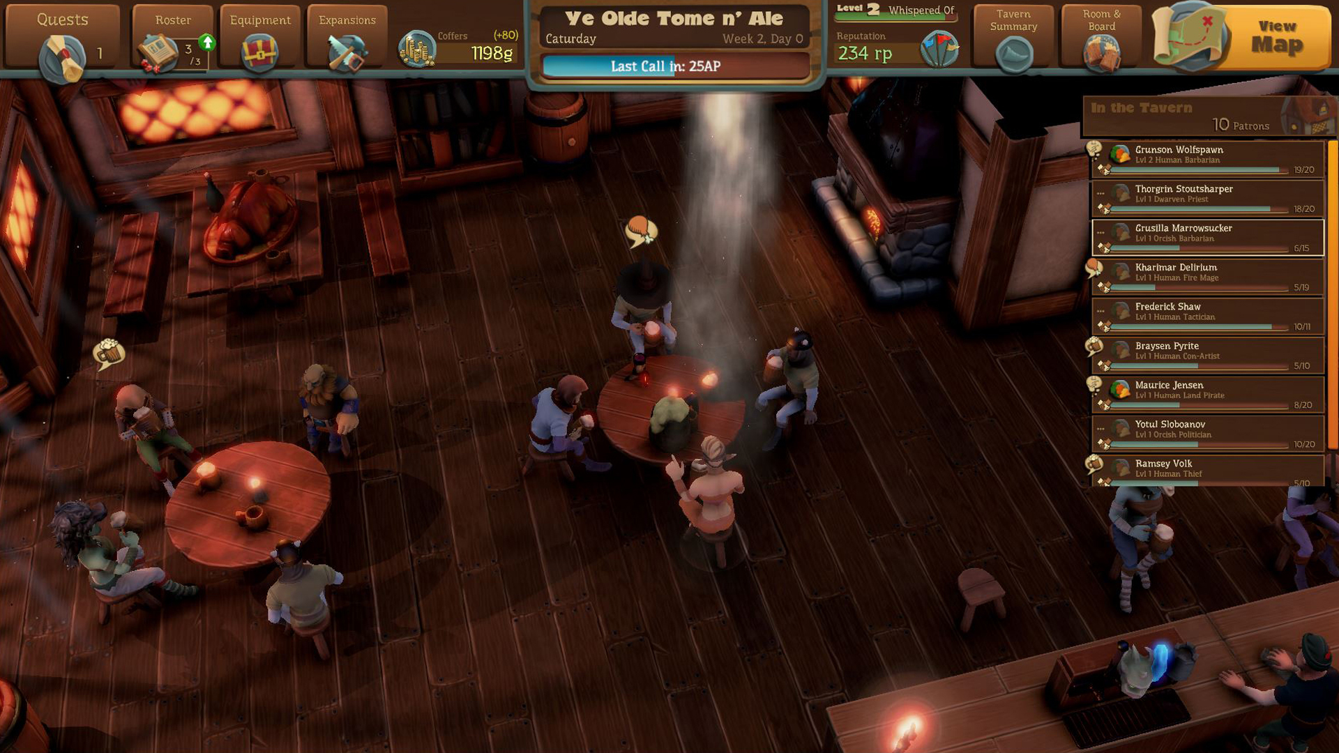 Preview Test Epic Tavern simulateur de taverne sur Steam13