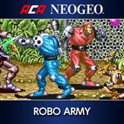 mise à jour du playstation store du 31 octobre 2017 ACA NEOGEO ROBO ARMY