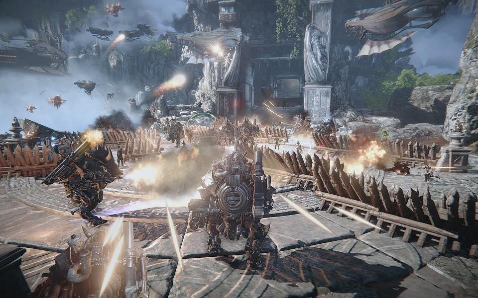 MMORPG AAA 2018 Ascent Infinite Realm A IR bluehole kakao games 2