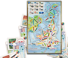 Ticket to Ride United Kingdom ios android steam 1