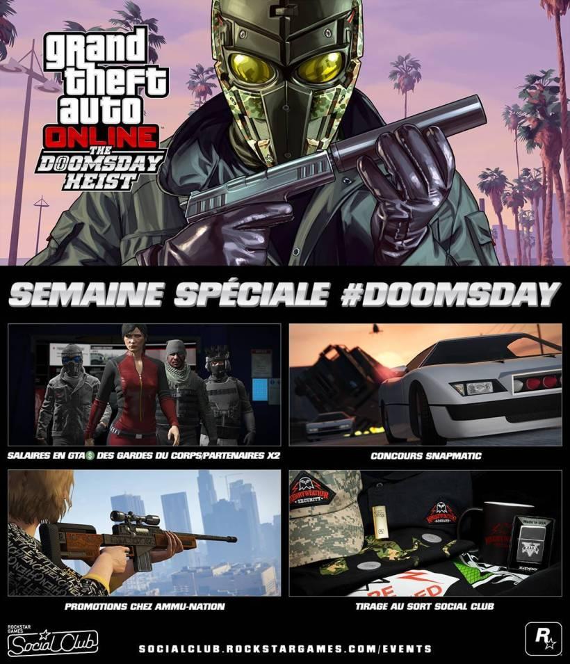 GTA Online semaine DOOMSDAY