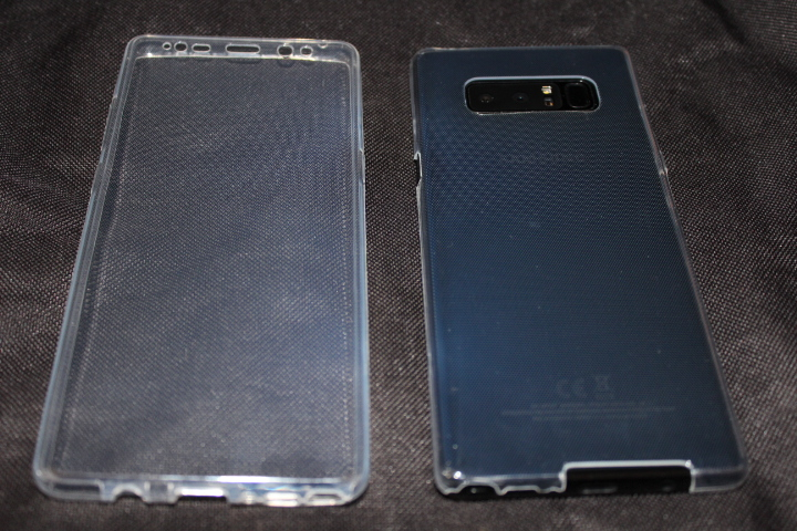 Test Coque Samsung Galaxy Note 8 olixar FlexiCover 1 8