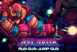 Atomik RunGunJumpGun nintendo switch