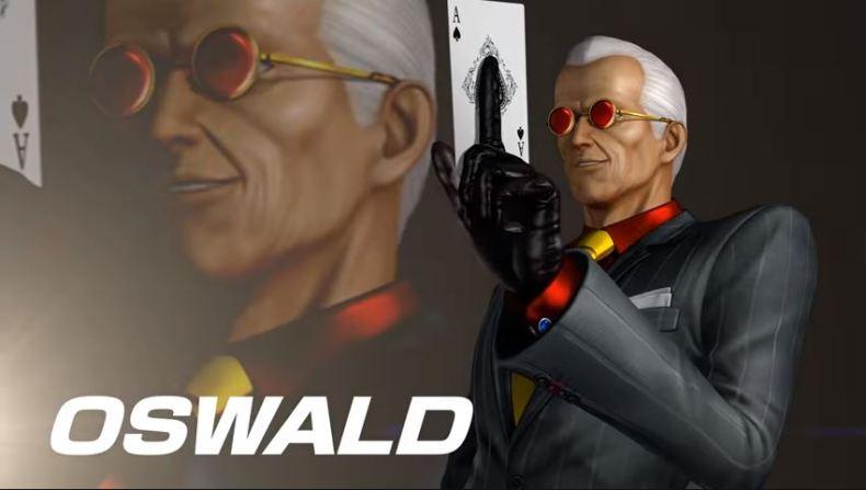 KOFXIV Oswald dlc