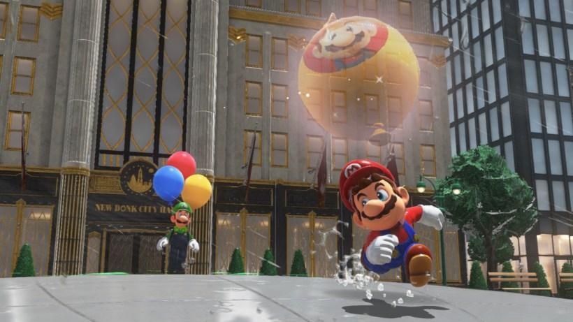 Mise à jour Super Mario Odyssey date de sortie luigi4