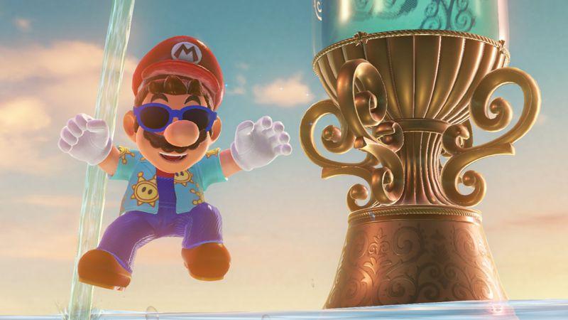 Mise à jour Super Mario Odyssey date de sortie nouvelles tenues4