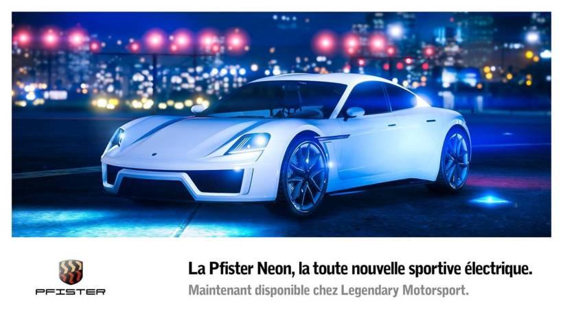 Pfister Neon GTA Online mise à jour