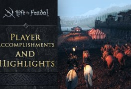 Player Accomplishments and Highlights life is feodal francais