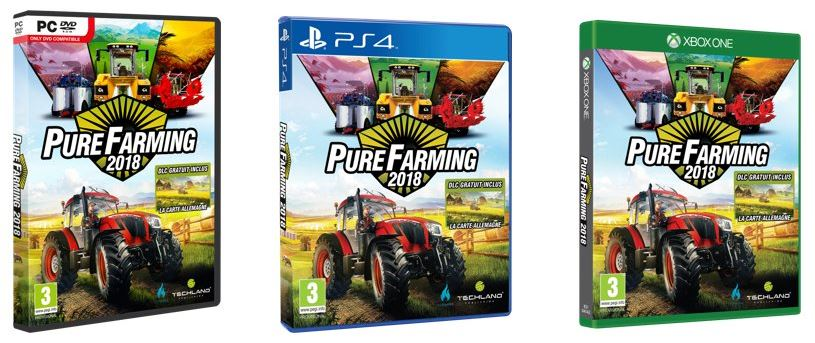 Pure Farming 2018 xbox one x ps4 pro pc steam