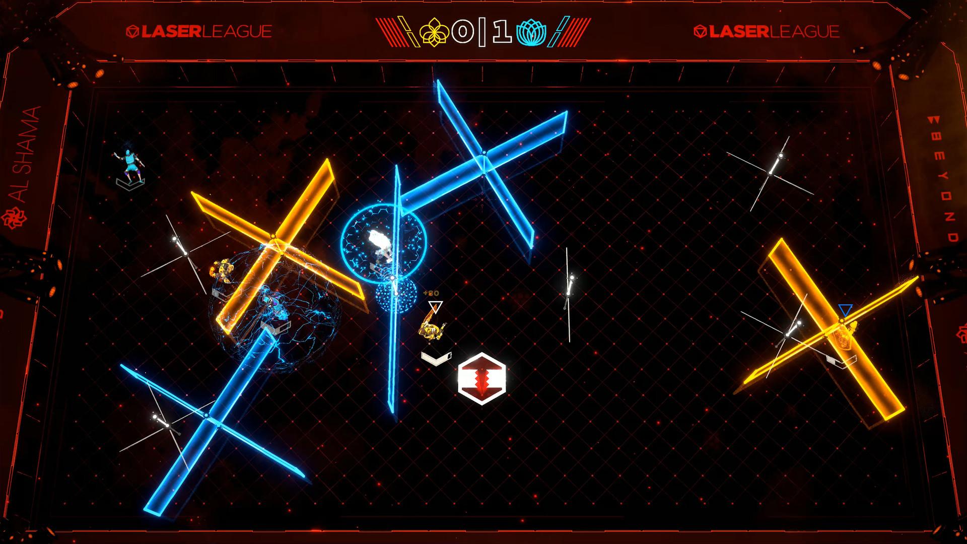 Laser league Steam accès anticipé 2