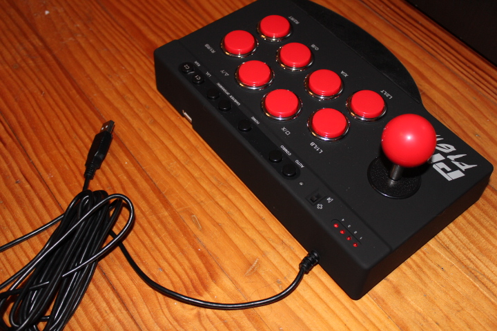 Test Pro Fight Arcade Stick ps4 xbox one ps3 by Subsonic screen12
