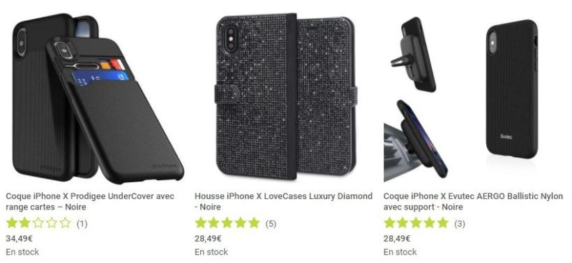 coques et protections Mobile Fun iPhone X screen3