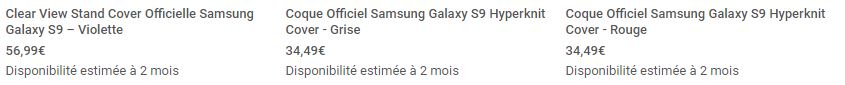 coques officielles samsung galaxy s9 mobile fun2
