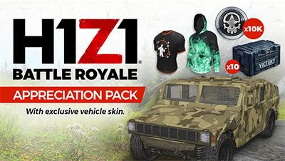 H1Z1 gratuit pack