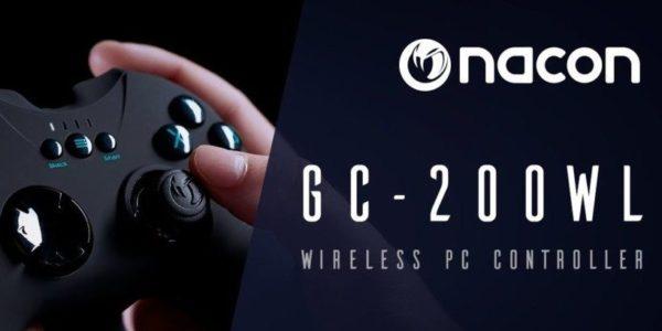 NACON GC-200WL screen