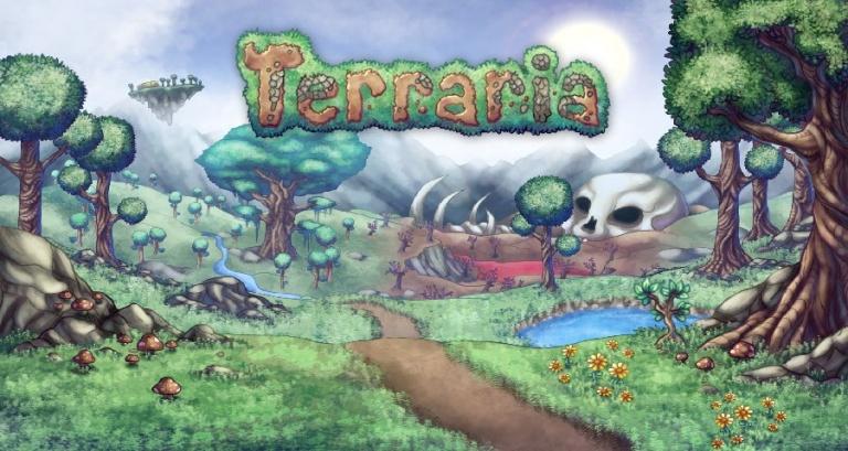 Terraria maj xbox one ps4 pc infos
