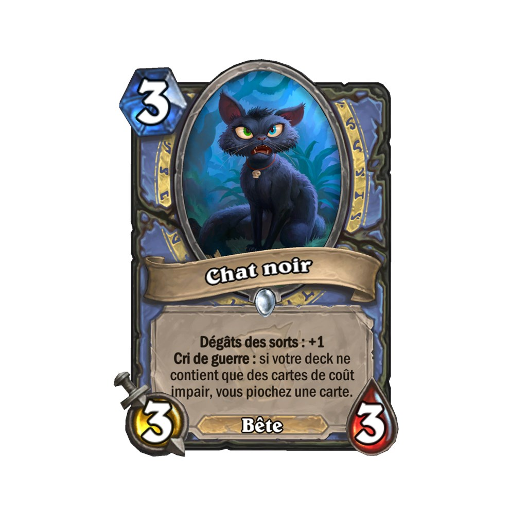 chat noir hearthstone