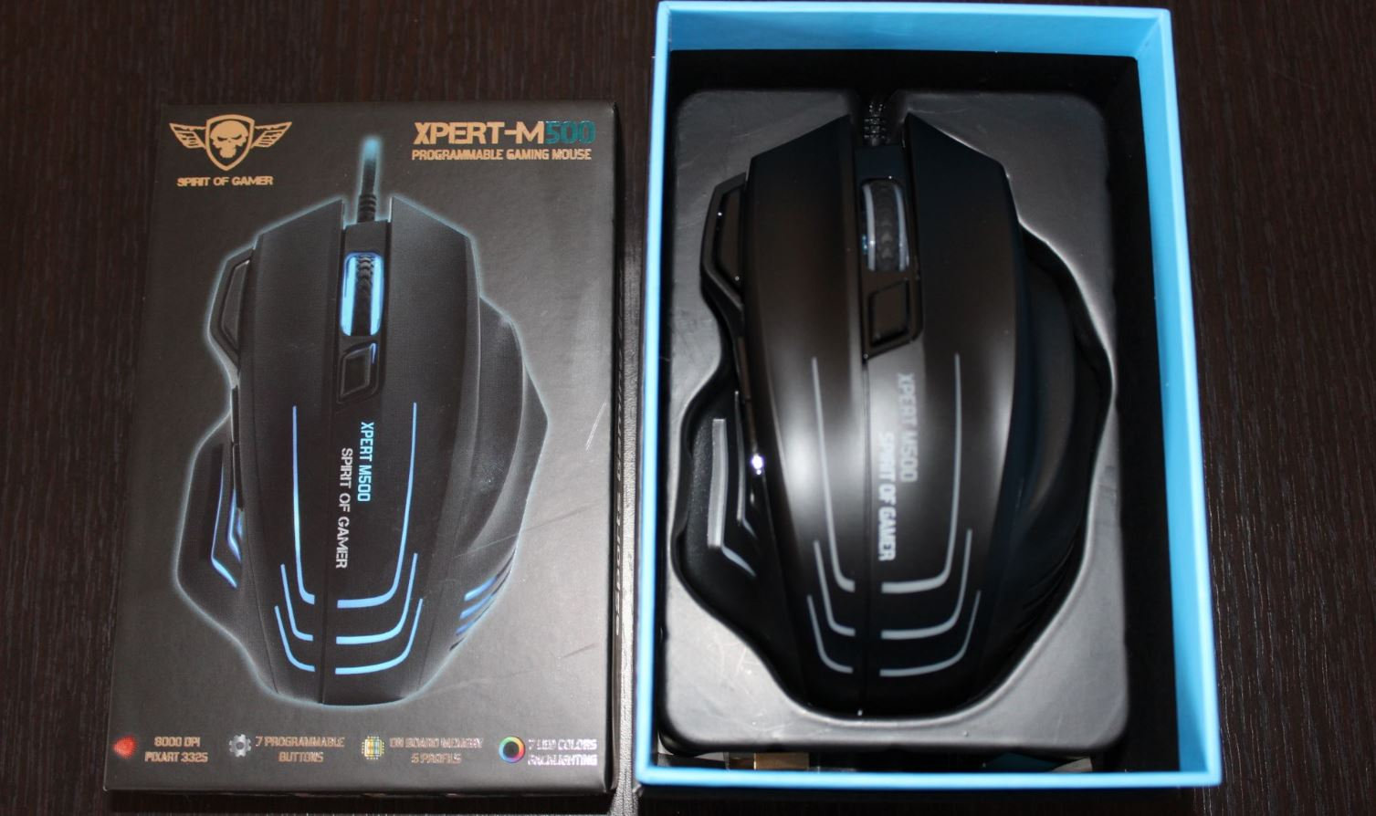 Test Souris gaming Spirit of Gamer XPERT M500 screen3