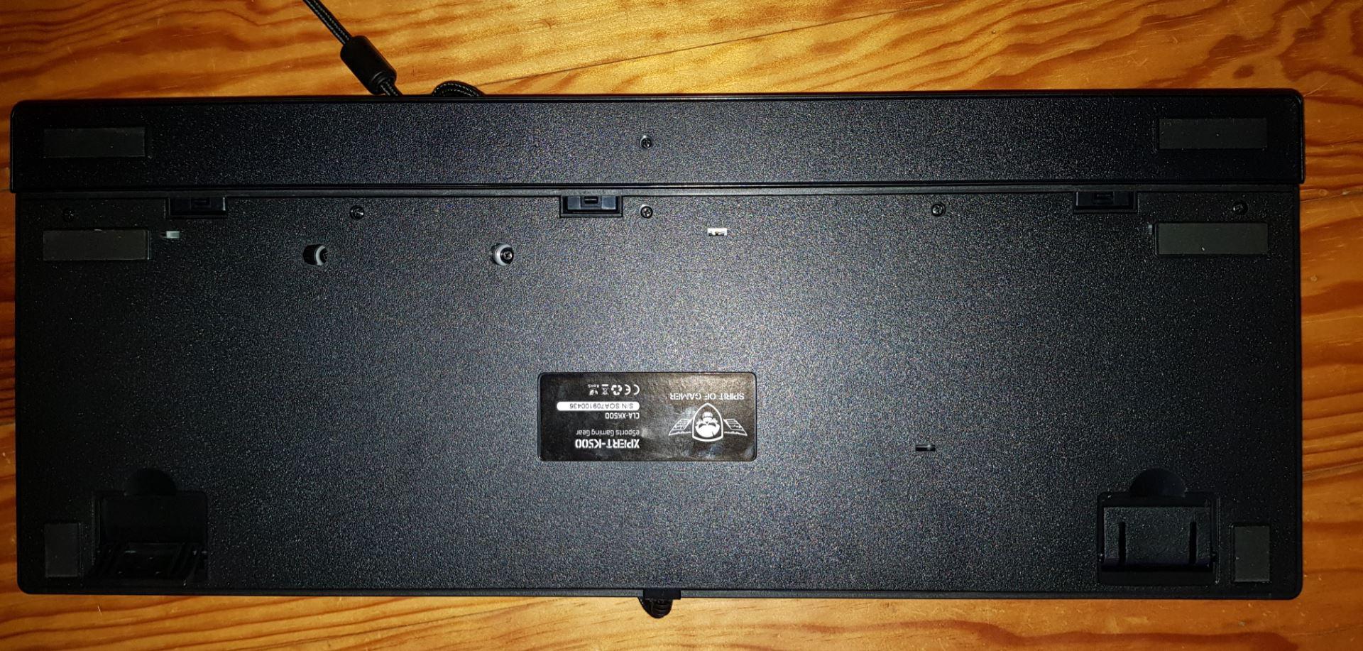 Test Spirit of Gamer Xpert K500 screen14