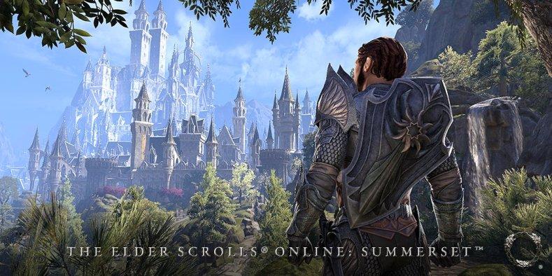 The Elder Scrolls Online Summerset gameplay