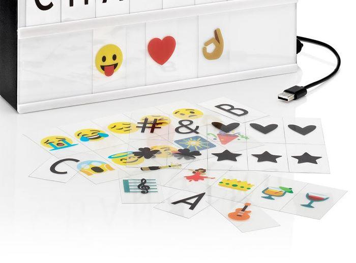 test Panneau LED AGL Couleurs changeantes avec Emojis