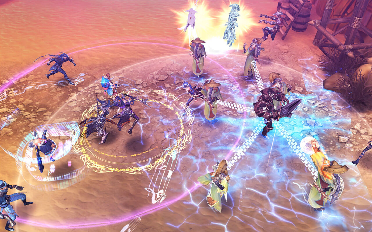 Royal Blood mmorpg mobile android ios 24