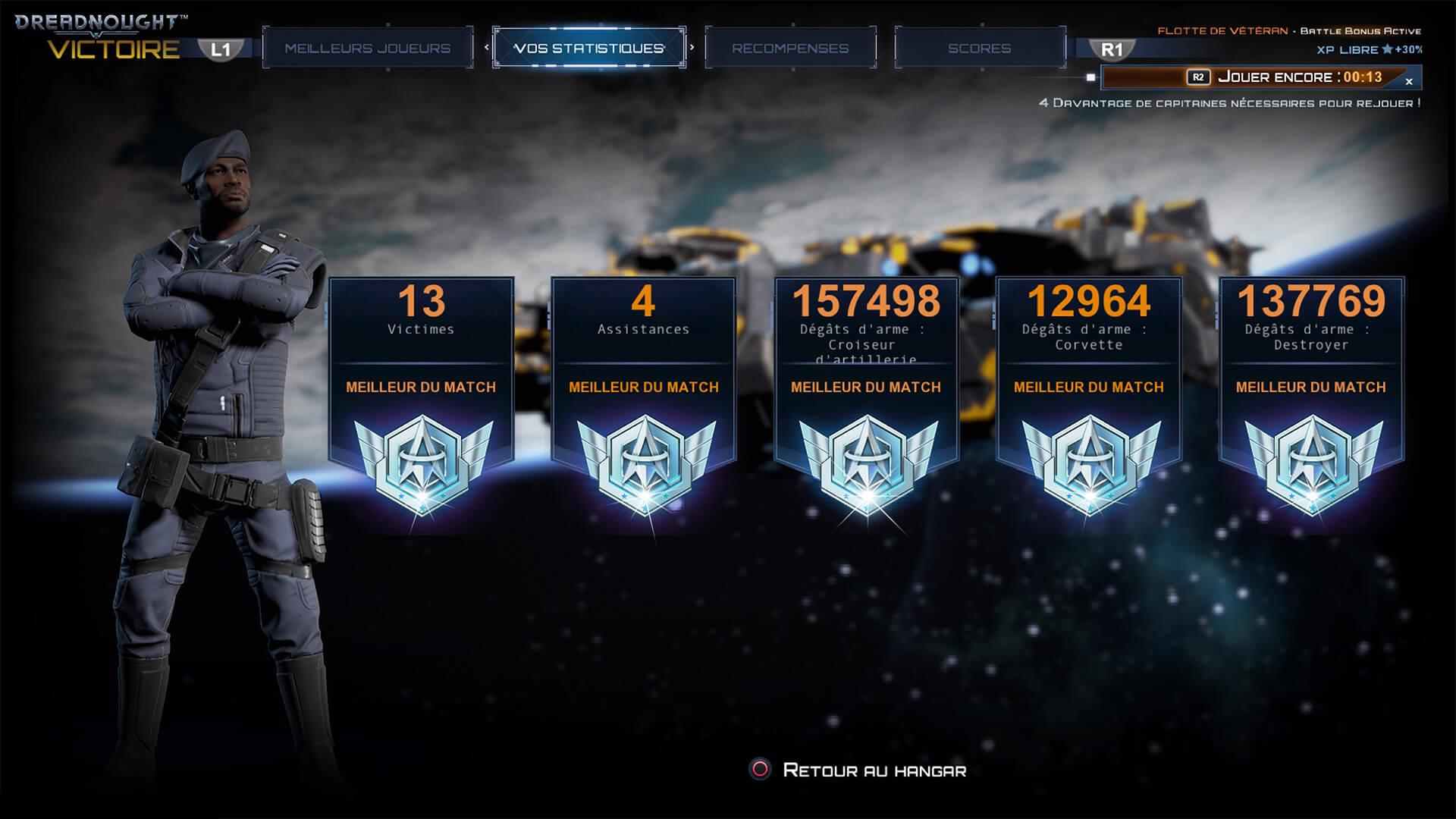 Dreadnought : la mise à jour colossale sur PS4 !
