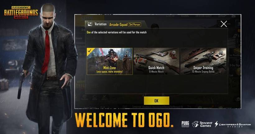 PUBG Mobile maj juin 2018 info