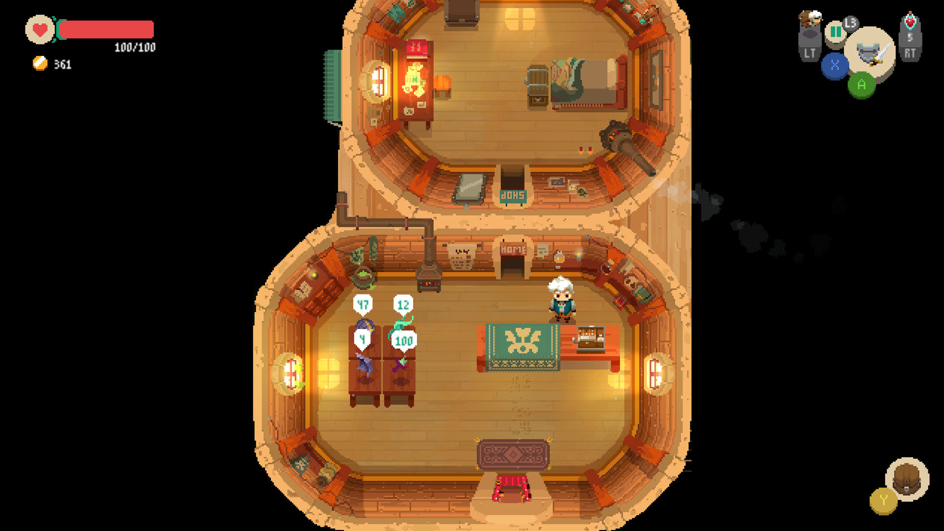 Test Moonlighter pc screen4