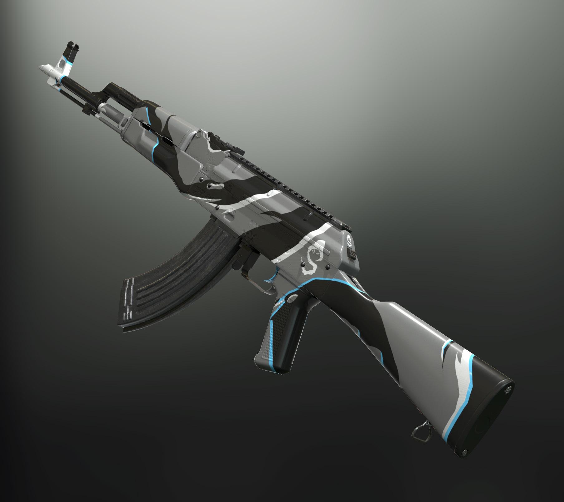 skisn d'armes AKM Drdisrespect PUBG