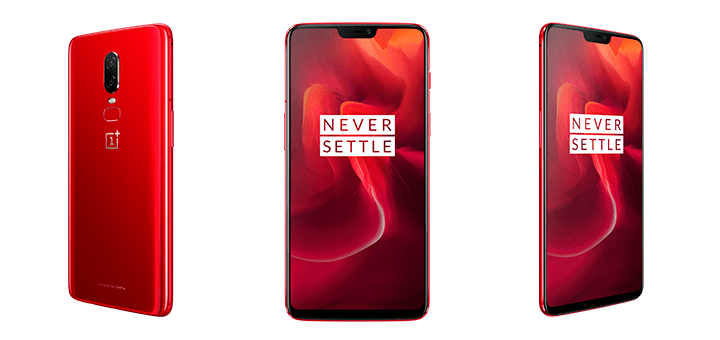 OnePlus 6 Red édition limitée 1