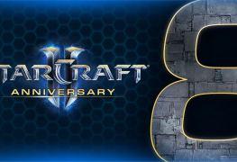 StarCraft II huit ans