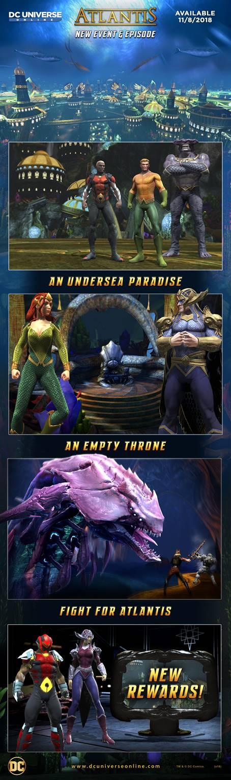 Atlantis DC Universe Online