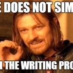 You Can't Teach the Writing Process: How to Make Writers by Showing Not Telling
