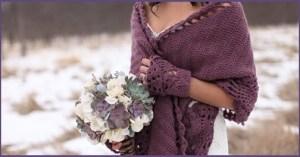 Невеста в накидке