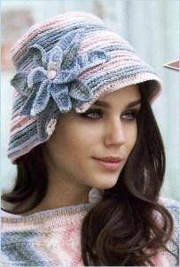 Летняя дамская шляпка