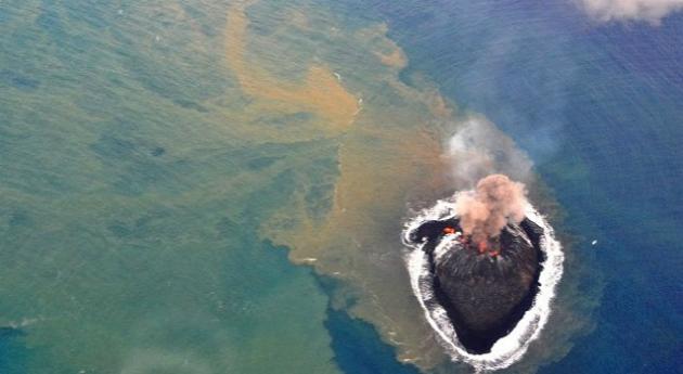 La isla volcánica que emergió al Sur de Tokio ha incrementado su tamaño y permanecerá allí