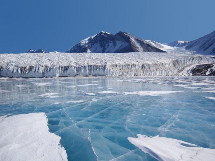Nuevo récord de la temperatura más baja del planeta: -91,2°C
