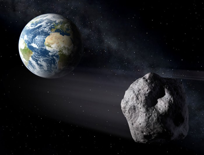 Ésta tarde un asteroide de 14 metros pasará cerca a nuestro planeta