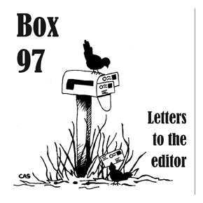 Letters to the editor: Oct. 31, 2013